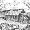 Perkins Maple Sugar House by Richard Wambach