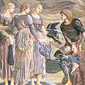 Perseus And The Sea Nymphs, C.1876 by Sir Edward Coley Burne-Jones