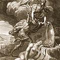 Perseus Cuts Off Medusas Head, 1731 by Bernard Picart