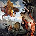 Perseus Rescuing Andromeda by Paolo Veronese