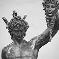 Perseus With Head Of Medusa by Caroline Stella