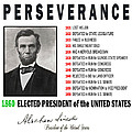 Perseverance Of Abraham Lincoln by Daniel Hagerman