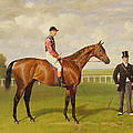 Persimmon Winner Of The 1896 Derby by Emil Adam