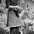 Person Wearing A Gardening Apron by Frances McLaughlin-Gill