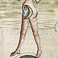 Personification Of Luna, 15th Century by British Library