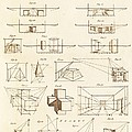 Perspective And Scenographic Diagrams. by David Parker