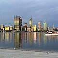 Perth By Sunset  by Penny Ogrady