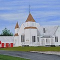 Peru Congregational Church by Sally Rice