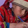 Peru Writing Lesson In Huilloc Primary School Peru by Dan Hartford