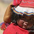 Peruvian Child by Jason O Watson