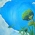 Petals Drifting by Marisela Mungia
