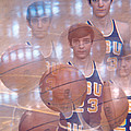 Pete Maravich Kaleidoscope Color 2 by Retro Images Archive
