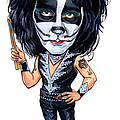 Peter Criss by Art