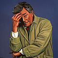 Peter Falk As Columbo by Paul Meijering