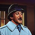 Peter Sellers As Inspector Clouseau  by Paul Meijering
