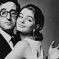 Peter Sellers Posing With A Model by Jereme Ducrot