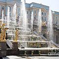 Peterhof Palace Fountains by Thomas Marchessault