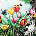 Peters Easter Garden by Shana Rowe Jackson