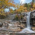 Peterskill Falls by Claudia Kuhn