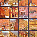 Petra Alive In Petra Jordan by Ruth Hager