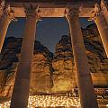 Petra Inside The Temple by Jimmy McIntyre