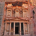 Petra Treasury by Tony Beck