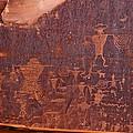Petroglyph In Utah by Jean Clark