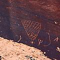 Petroglyphs In Utah by Jean Clark