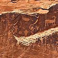 Petroglyphs Or Rock Art In Utah by Jean Clark