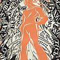 Petrograd Red Seventh November Revolutionary Poster Depicting A Russian Sailor by Sergei Vasilevich Chekhonin