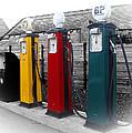 Petrol Station by Roberto Alamino