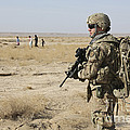 Petty Officer Maintains Security by Stocktrek Images