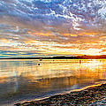 Pewaukee Vibrant Evening  by Andrew Slater