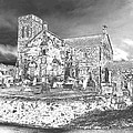 Pewter Skies Over The Kirk by James Potts