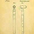 Pfaff Flute Patent Art 1857 by Ian Monk