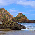 Pfeiffer Beach On Big Sur Coast by Viktor Savchenko