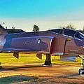 Phantom 4 Jet Vietnam Era by Peggy Franz
