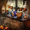 Pharmacist - Medicinal Equipment  by Mike Savad