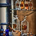 Pharmacist - Medicine Bottles by Paul Ward