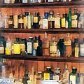 Pharmacist - Mortar Pestles And Medicine Bottles by Susan Savad