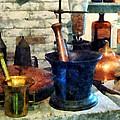 Pharmacist - Three Mortar And Pestles by Susan Savad