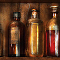 Pharmacist - Various Elixirs  by Mike Savad