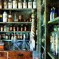 Pharmacy - Back Room Of Drug Store by Susan Savad