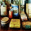 Pharmacy - Cough Remedies And Tooth Powder by Susan Savad