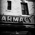 Pharmacy - Storefronts Of New York by Miriam Danar