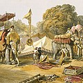 Pheel Khana, Or Elephants Quarters by William 'Crimea' Simpson