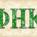 Phi Eta Kappa - Parchment by Stephen Younts