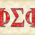Phi Sigma Phi - Parchment by Stephen Younts