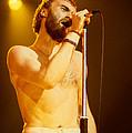 Phil Collins Of Genesis At Oakland Coliseum by Daniel Larsen