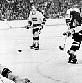 Phil Esposito In Action by Gianfranco Weiss